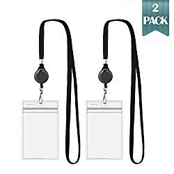Click to buy Vinyl Retractable Ski Pass Holder