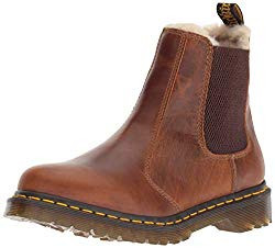 Dr. Martens Fur-Lined Leonore Wyoming Chelsea Boot