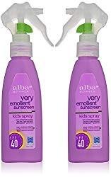 Alba Botanica kids sunscreen spray
