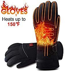 Rabbitroom Battery Operated Electric Heated Gloves