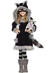 Raccoon Costume for Girls