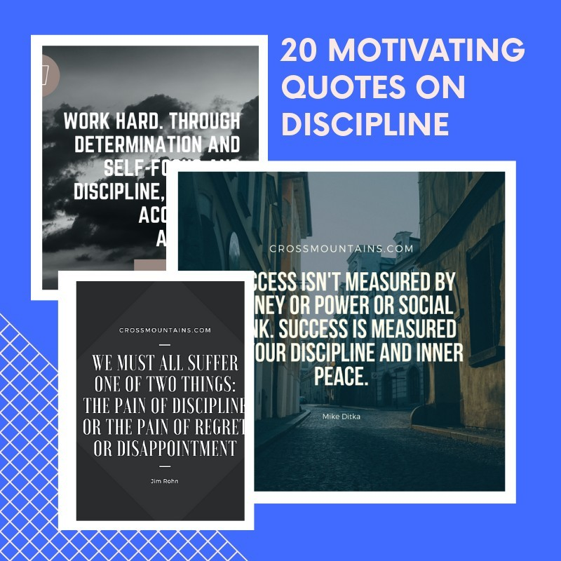 quotes for discipline