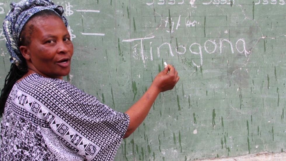 tinogona said by Dr. tererai trent