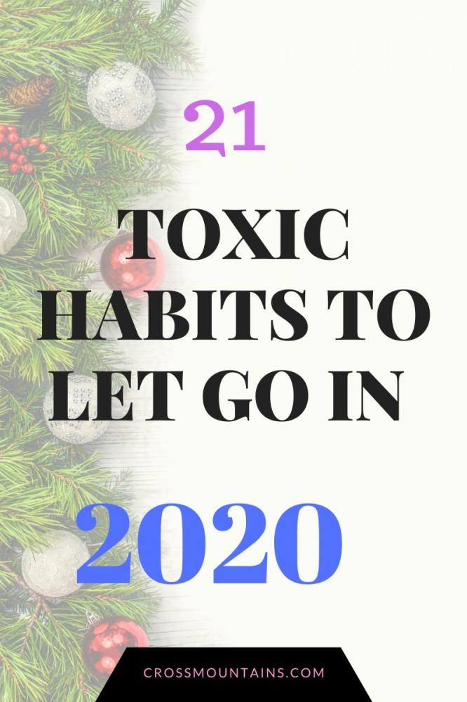 habits to let go of  in the new year