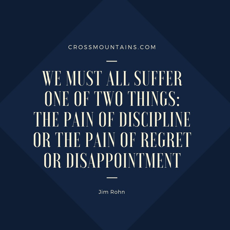 quotes for discipline by Jim Rohn