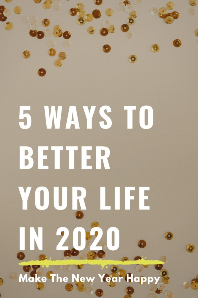 how to make 2020 your best year