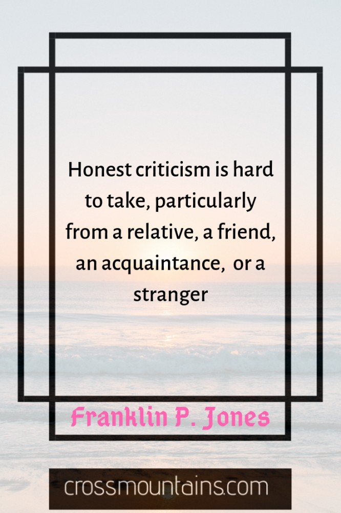 inspirational funny quotes about criticism and success