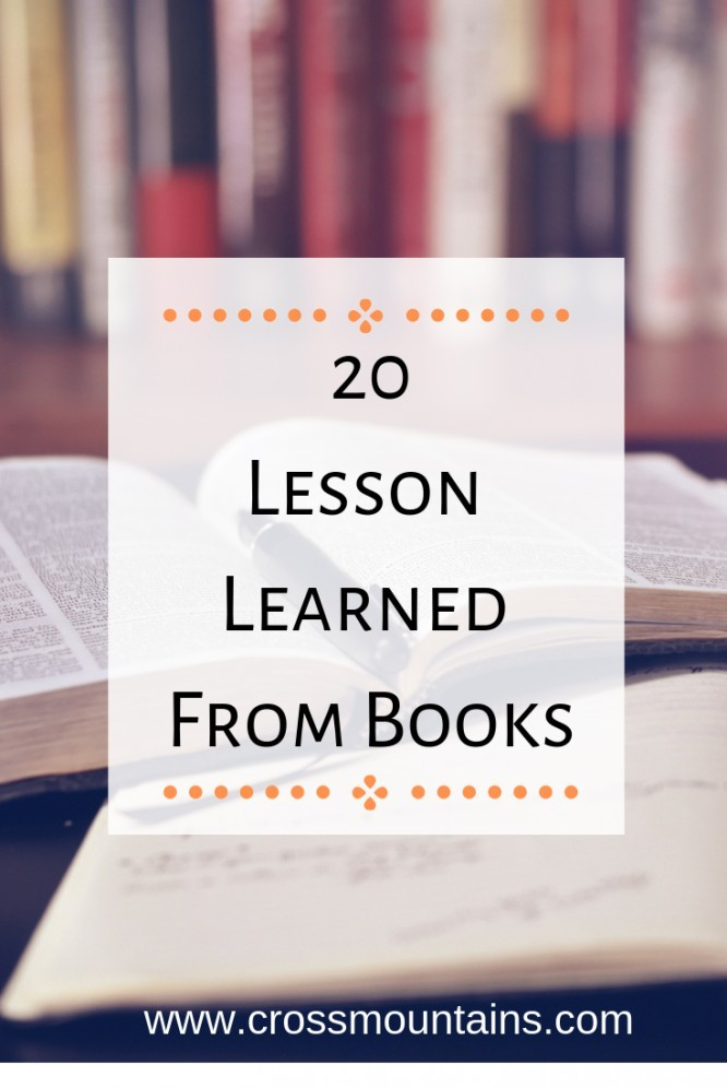 20 lesson learned from books