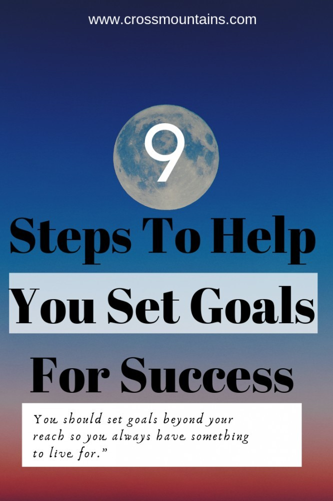 how to set goals for success