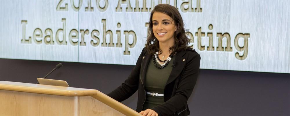 Victoria Arlen Public Speaking