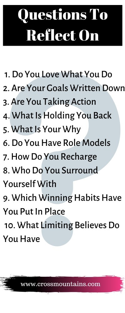 questions to reflect on