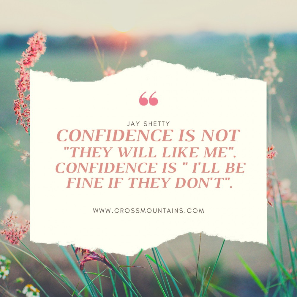 Jay Shetty quotes about confidence