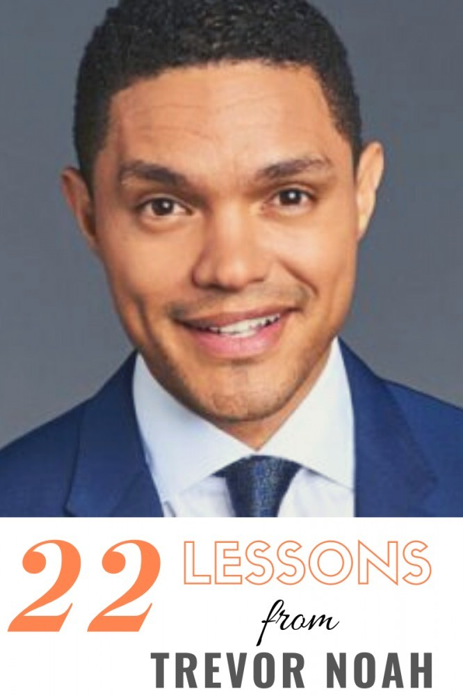 lessons from trevor noah, born a crime