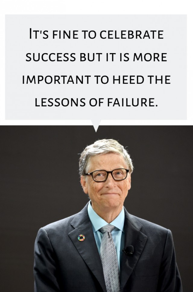 bill gates quote in how to create a mindset for success