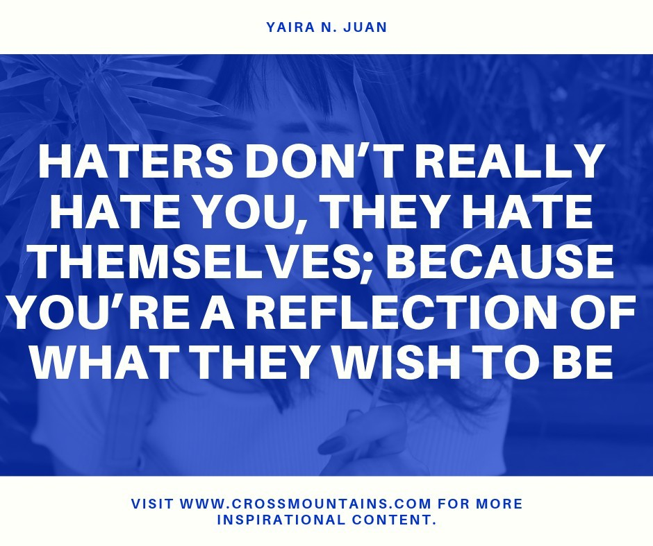 quotes for haters by yaira n. jaun