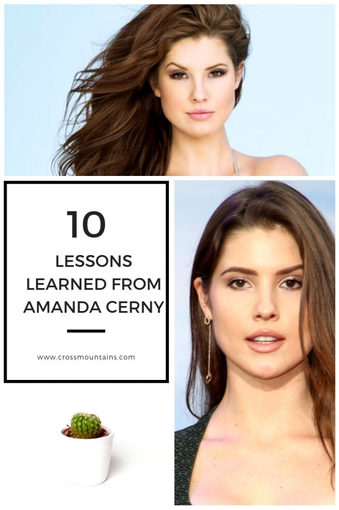 Lessons from Amanda Cerny