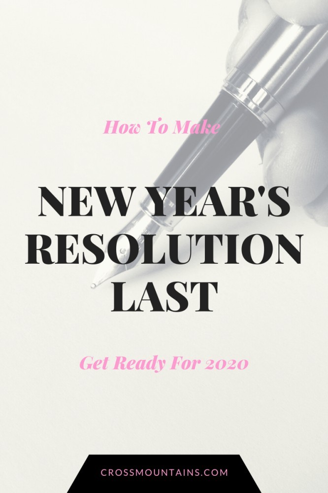 how to make new year's resolution last