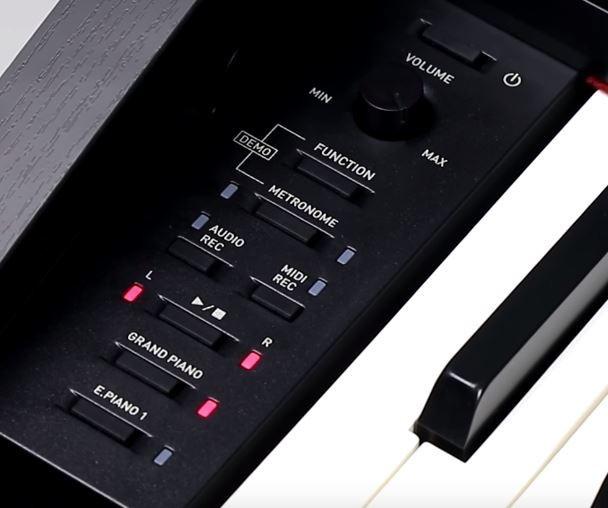 Casio PX-870 control panel