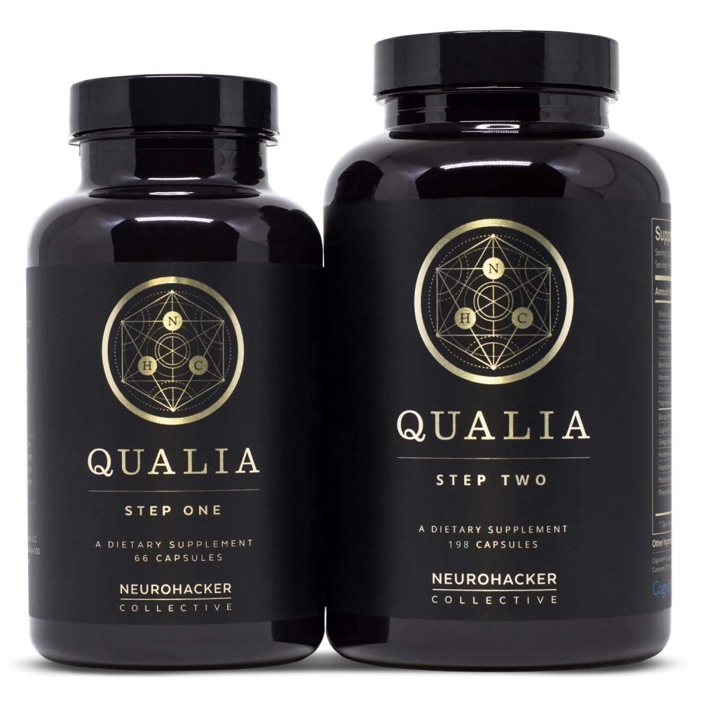 Qualia Step One and Step 2. Qualia review