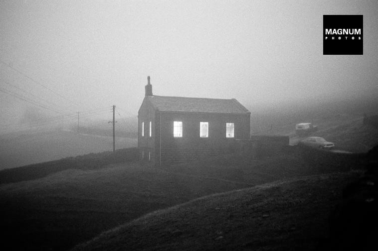 Martin Parr GB. England. Crimsworth Dean Methodist Chapel. 1977.