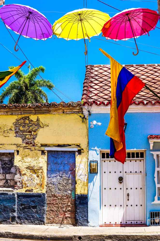 Colorful photo of Cartagena, Colombia. used in the article, Best of Medellin, Cartagena and the Pacific Coast of Colombia