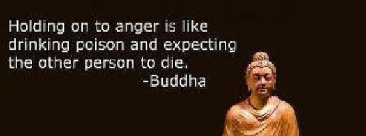 Letting go of anger is for our benefit!