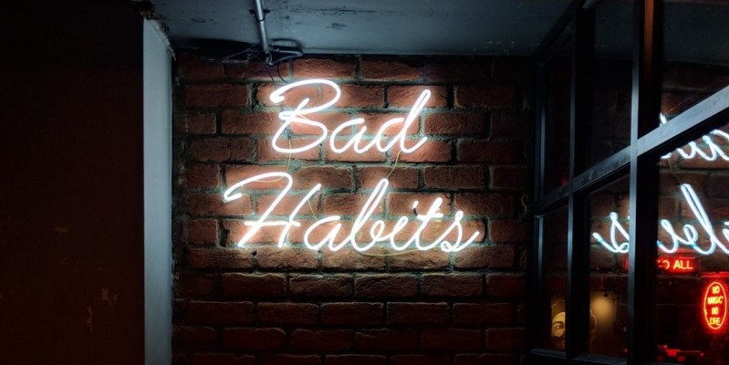 Are bad habits ruining your life? Break them and you will achieve your goals!