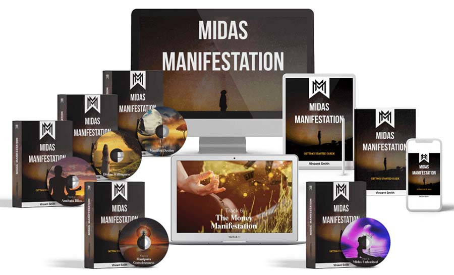 Re tune your vibration to attract abundance with The Midas Manifestation Program