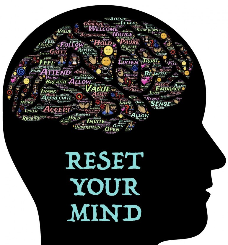 Reset your mind to regain contol of your life!