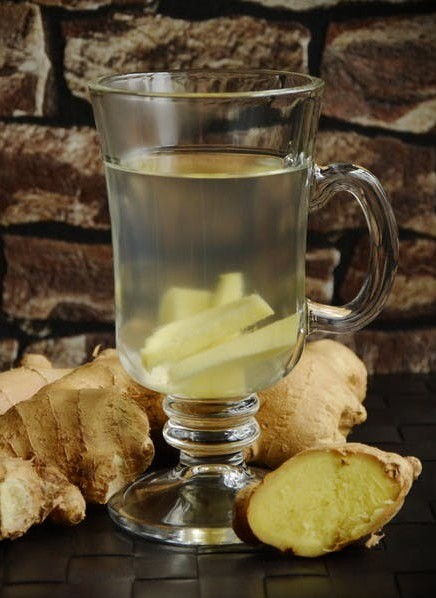 Benefits of herbal tea - Ginger Tea