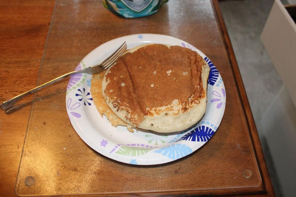 Finished pancakes