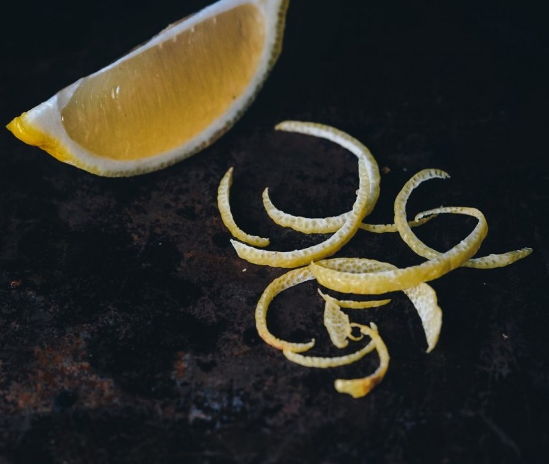 Citrus Zest. Photo by Nathan Lemon