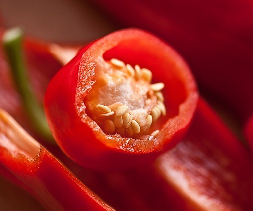Cayenne Pepper. Photo by uroburos