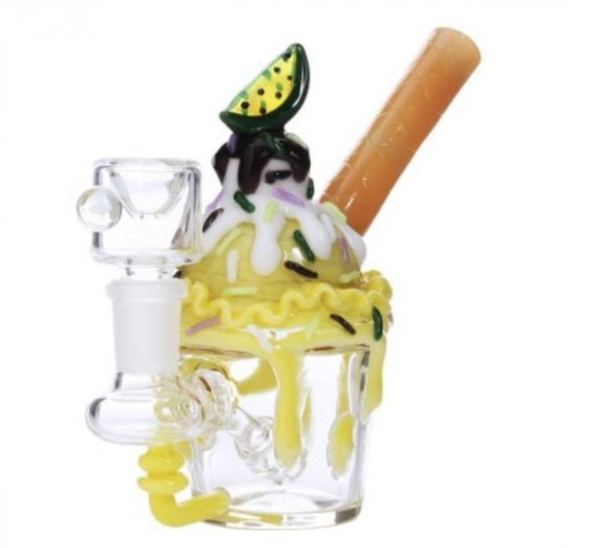 Empire Glassworks Key Lime Sundae Dab rig