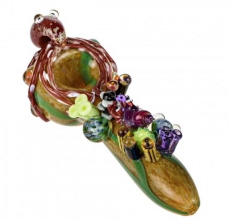 Empire Glassworks finding kraken spoon pipe