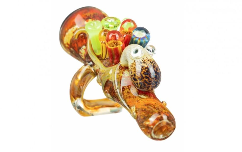 Empire Glassworks Octopus Chillum