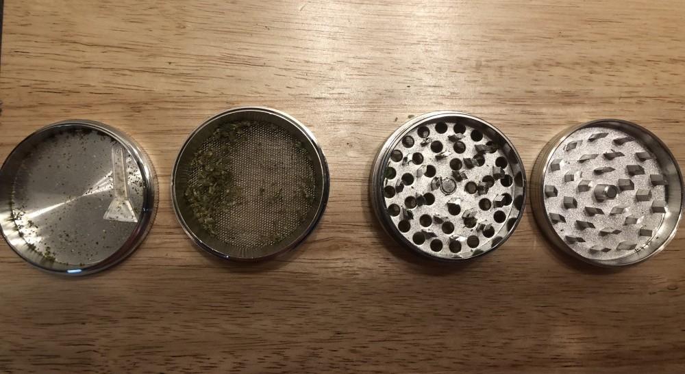 4-piece grinder