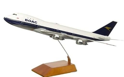 B747 diecast model