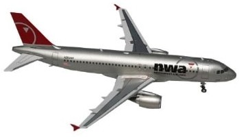 A320 diecast model