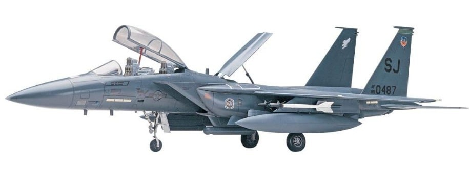 F-15E Diecast Model