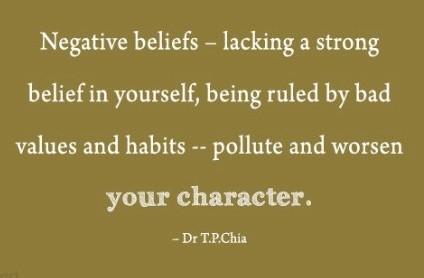 beliefs that do no serve