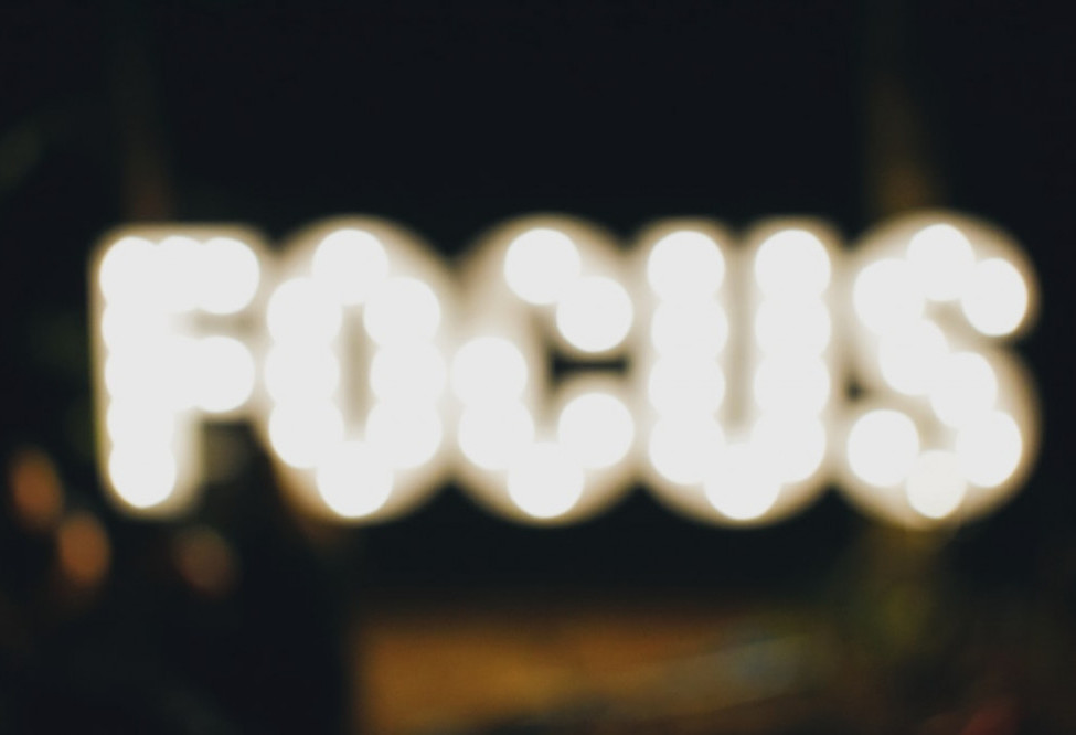 Focus is a powerhouse key to elevate