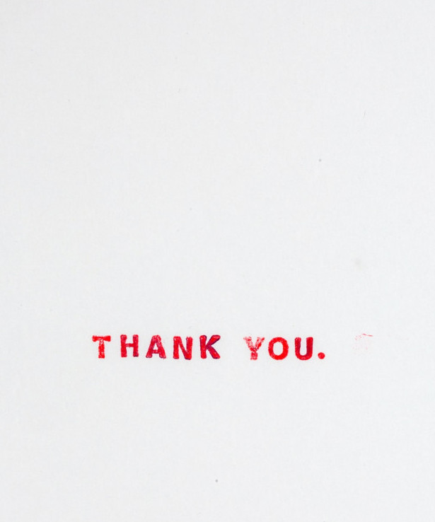 Thank you for thanks