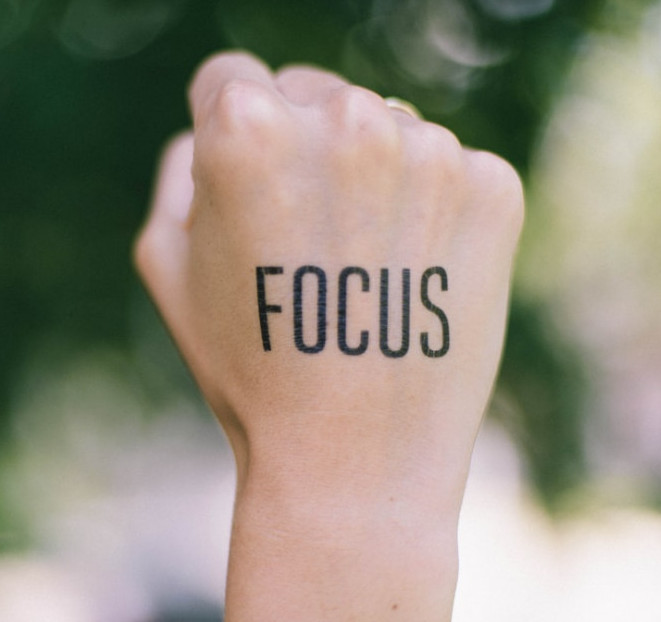 Punch in the focus for your life forces of empowerment