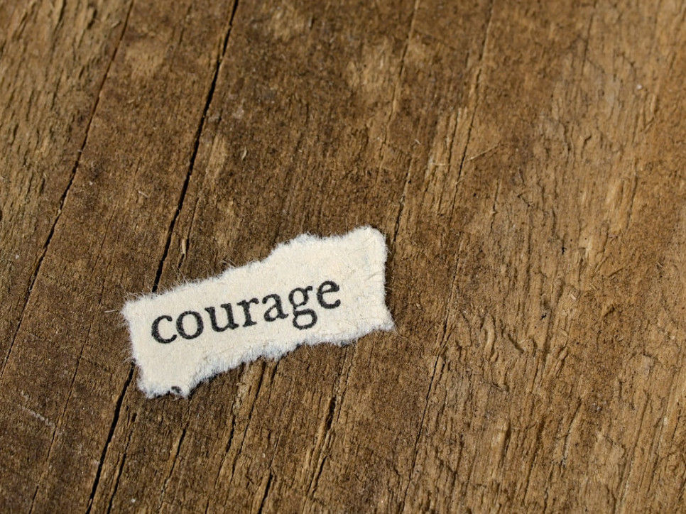 How to stop being a victim with courage