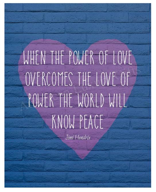 Promoting world peace