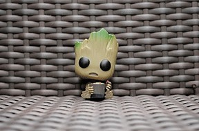 funko wicker chair hair