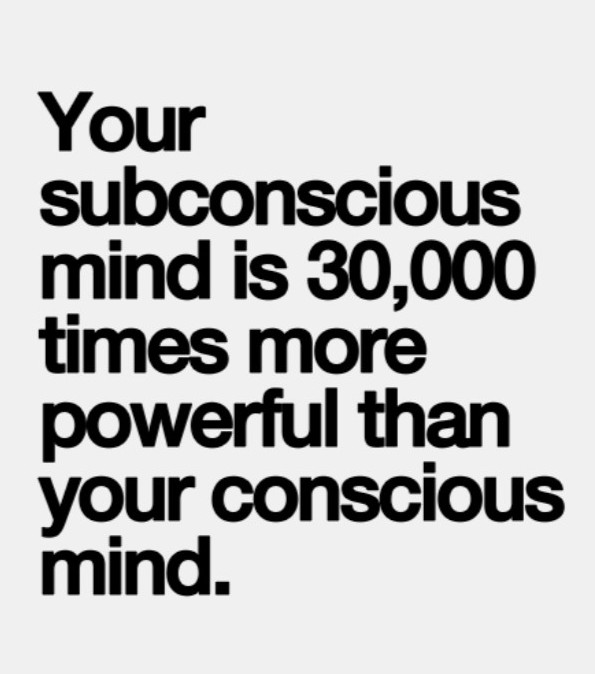The power of your mind the subconsious