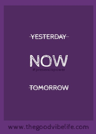 yesterday now tomorrow