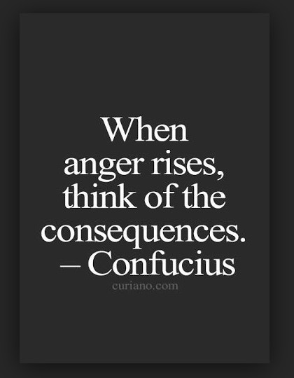 consequences of anger
